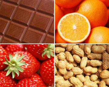 Продукты, вызывающие аллергию